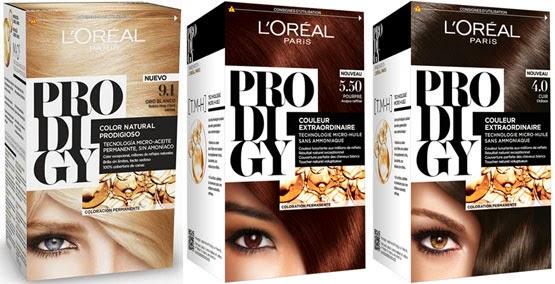 L'Oréal Paris Prodigy coloración cabello