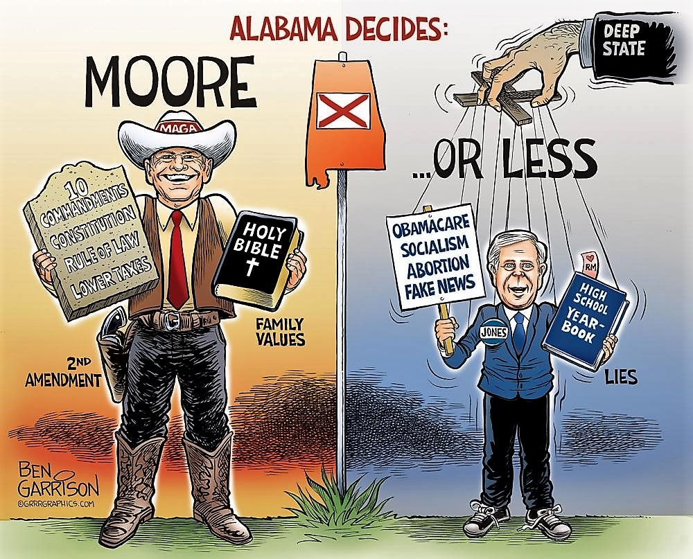 Alabama decides: Moore or Less