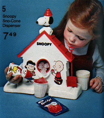snoopy snocone machine