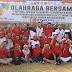 Polres Gresik Bersama Fokompimda Ikut Serta Mensukseskan Asian Games Lakukan Olahraga Bersama