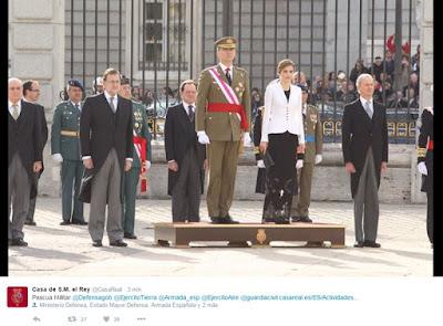 Pascua Militar, historia y simbolismo en una ceremonia castrense, por Olga Casal