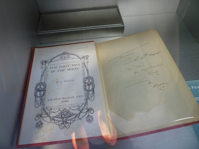 the first men in the moon by h.g. wells at leicester space centre via lovebirds vintage