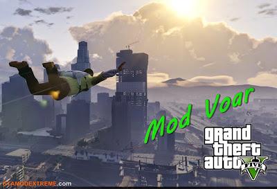 Baixar mod Mod Voar (Fly Mod) Para GTA V