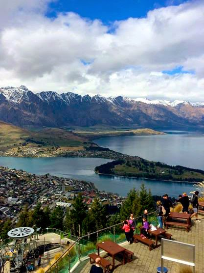 Queenstown New Zealand Look Out