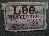 60's Lee WESTERNER            PANTS            MOCHA BROWN