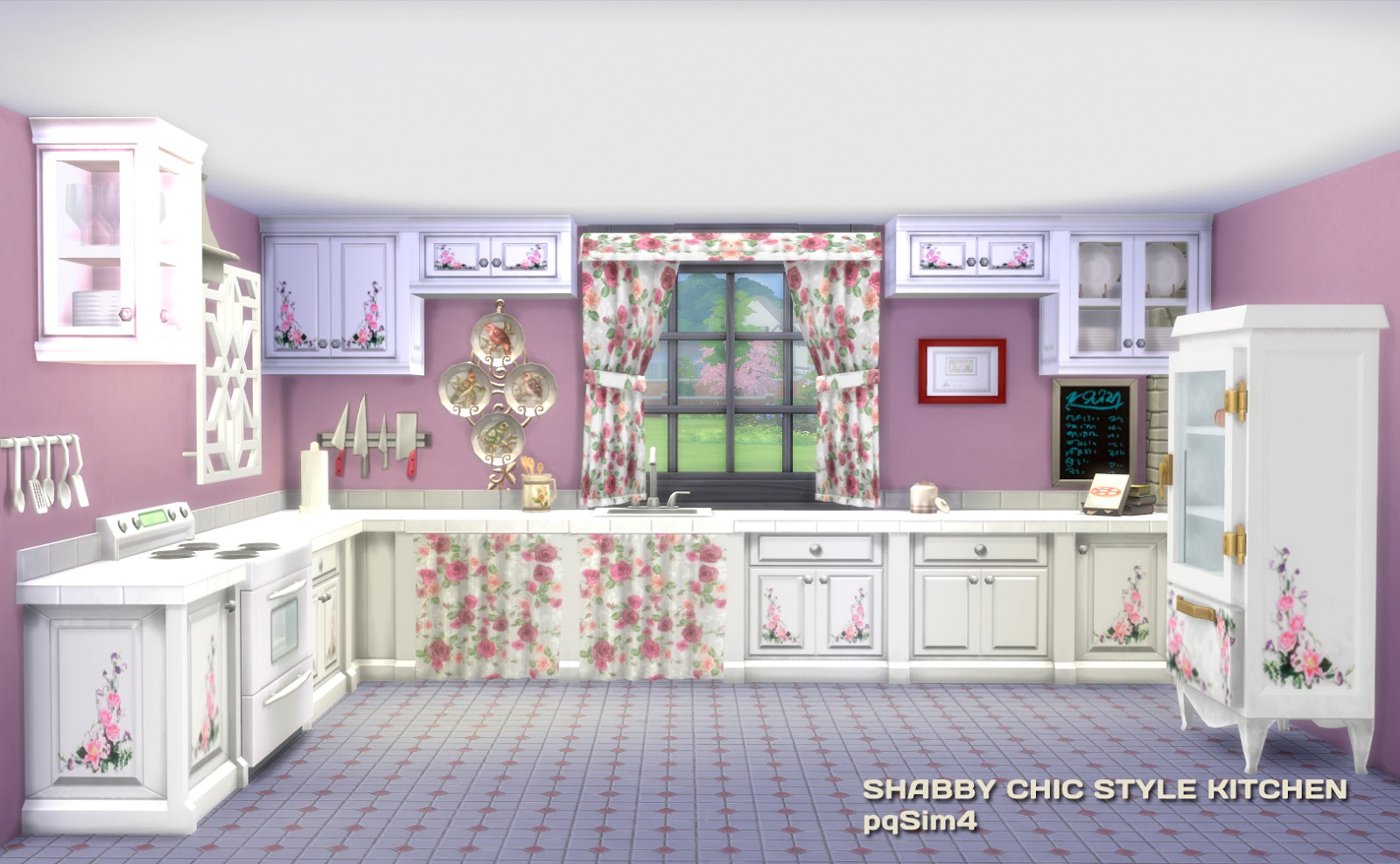 My Sims 4 Blog Shabby Chic Style Kitchen By Pqsim4