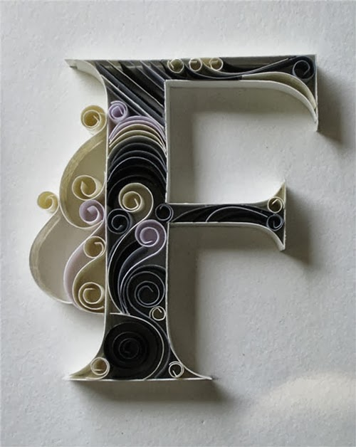 06-F-Quilling-Illustrator-Typographer-Calligrapher-Paper-Sculptor-Sabeena-Karnik-Mumbai-India-Sculptures-A-to-Z-www-designstack-co