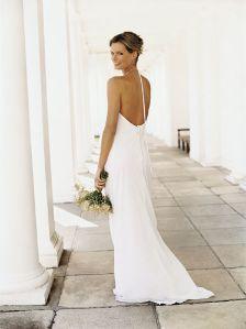 Backless Wedding dresses vera wang ~ Bridal Wears
