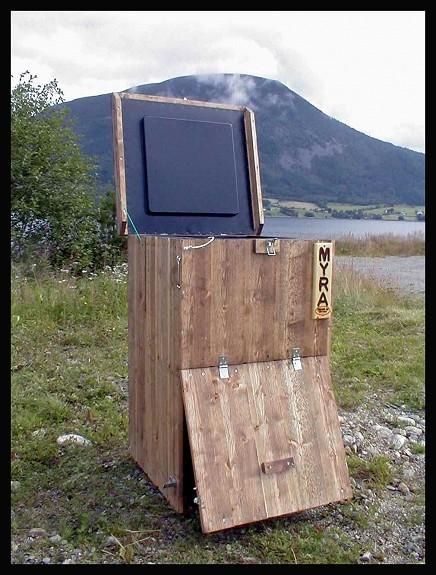 Kompostbinge varmkompost