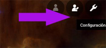 configuracion perfil yahoo