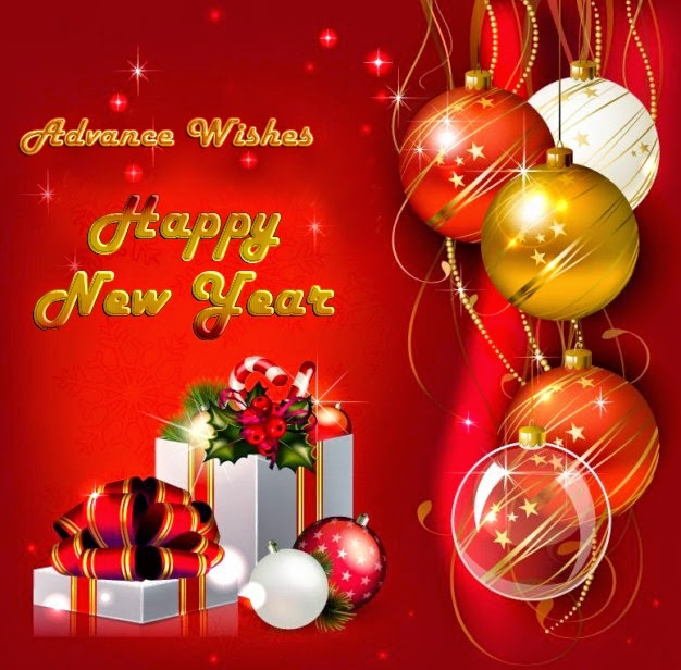 Happy New Year 2015 Advance Wishes Greeting eCards