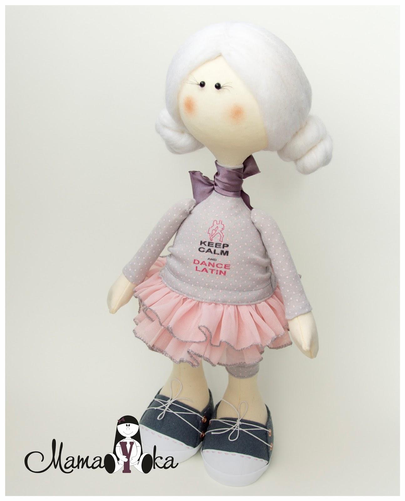 Кукла Снежка, большеножка