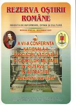 """Bucurati-va ! Cu numai 5(cinci) lei puteti intra in posesia revistei """"REZERVA OSTIRII ROMANE"""""""