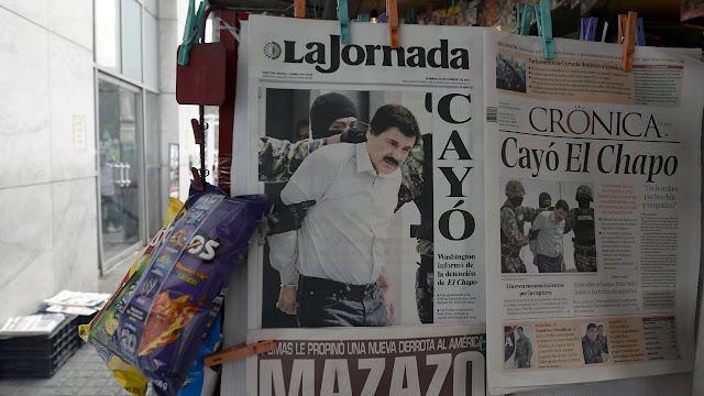 Guzmán sempre foi um mestre da fugas