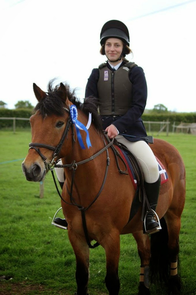 Emberton and District Riding Club show with Rocky