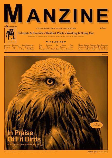 Manzine Eagle Cover
