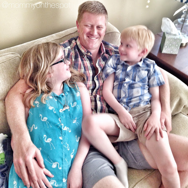 erin janda rawlings mommy on the spot week 2 of summer vacation father's day