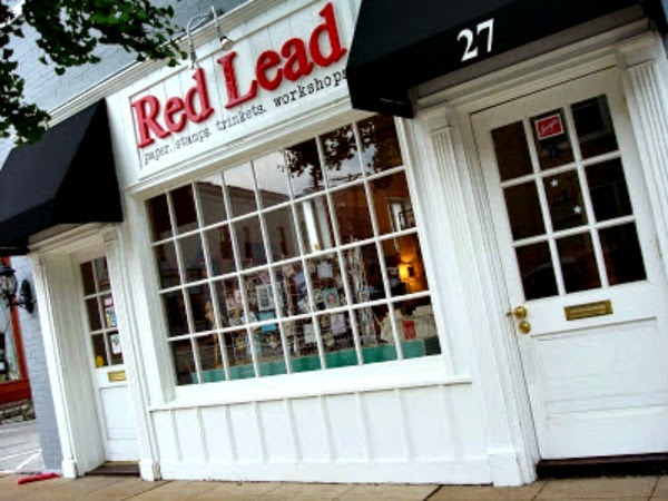 Red Lead Storefront via Kimberly Jones serendipityvintagestudio.blogspot.com