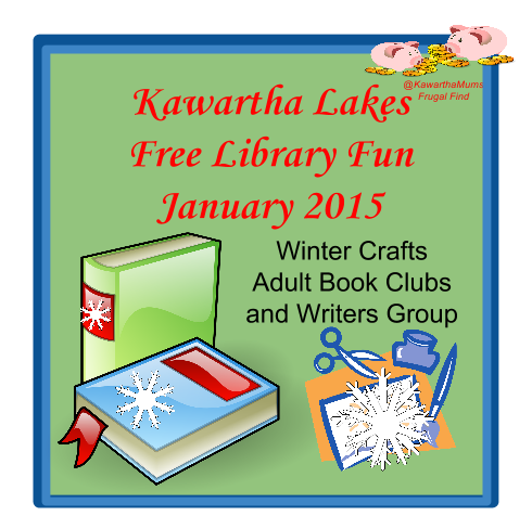 image January Crafts and Free Kawartha Lakes Library Fun