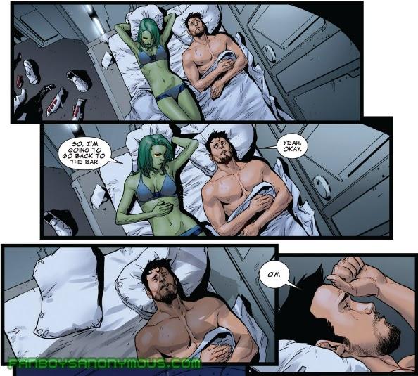 Zoe Saldana Guardians of the Galaxy Gamora nude photos