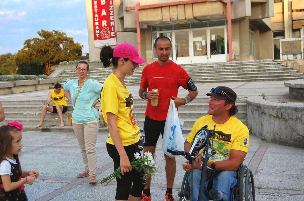 Cum am alergat 61 km alături de Vasile Stoica pe traseul Timişoara - Lugoj. Când visele devin realitate. Diana Crăiniceanu, Florin Chindea şi Vasile Stoica