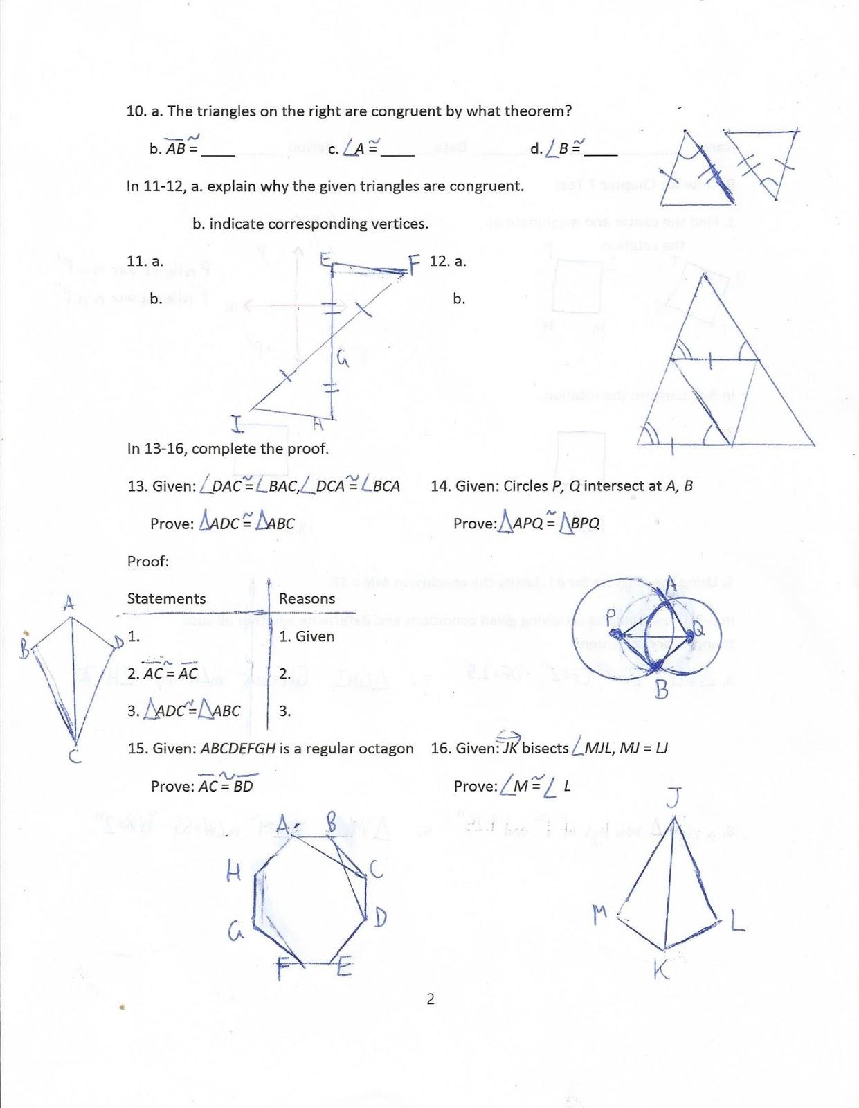 Geometry, Common Core Style: October 2015