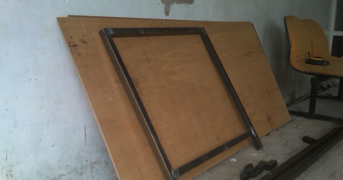 MEDIA KREASI : Bikin meja potong pola bahan konveksi