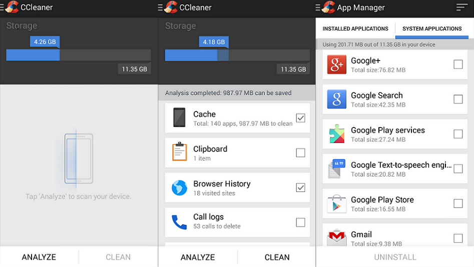 CCleaner Full Android APK İndir