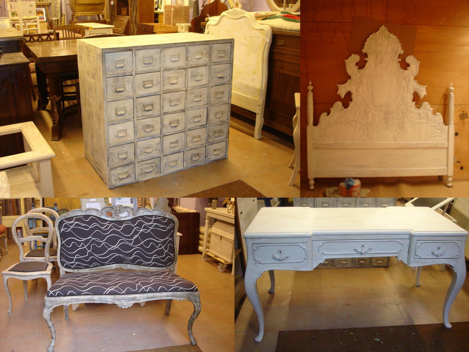 Trucos para los acabados decapados Publiboda - fotos de muebles decapados en blanco