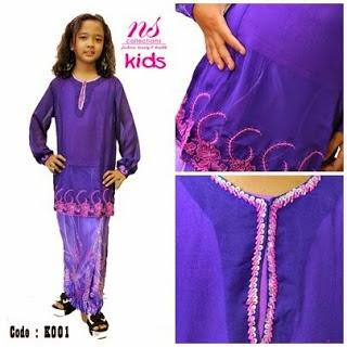 Model Baju Kebaya Kanak-Kanak