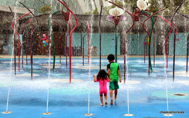 Garden By The Bay Water Park cheekiemonkies: singapore parenting & lifestyle blog: children's