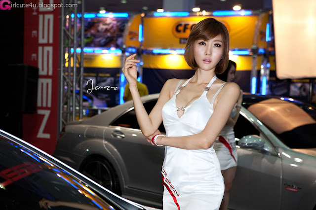 3 Choi Byeol Yee - Seoul Auto Salon 2012-Very cute asian girl - girlcute4u.blogspot.com