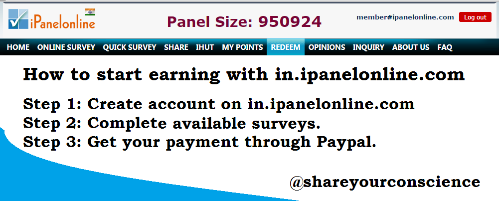 online earning by ipanelonline|survey