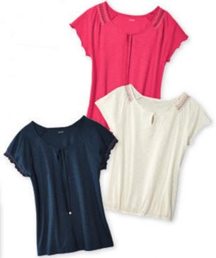 camisetas mujer Lidl moda verano