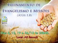 TREINAMENTO PARA EVANGELISMO EM MANTOVA-IT