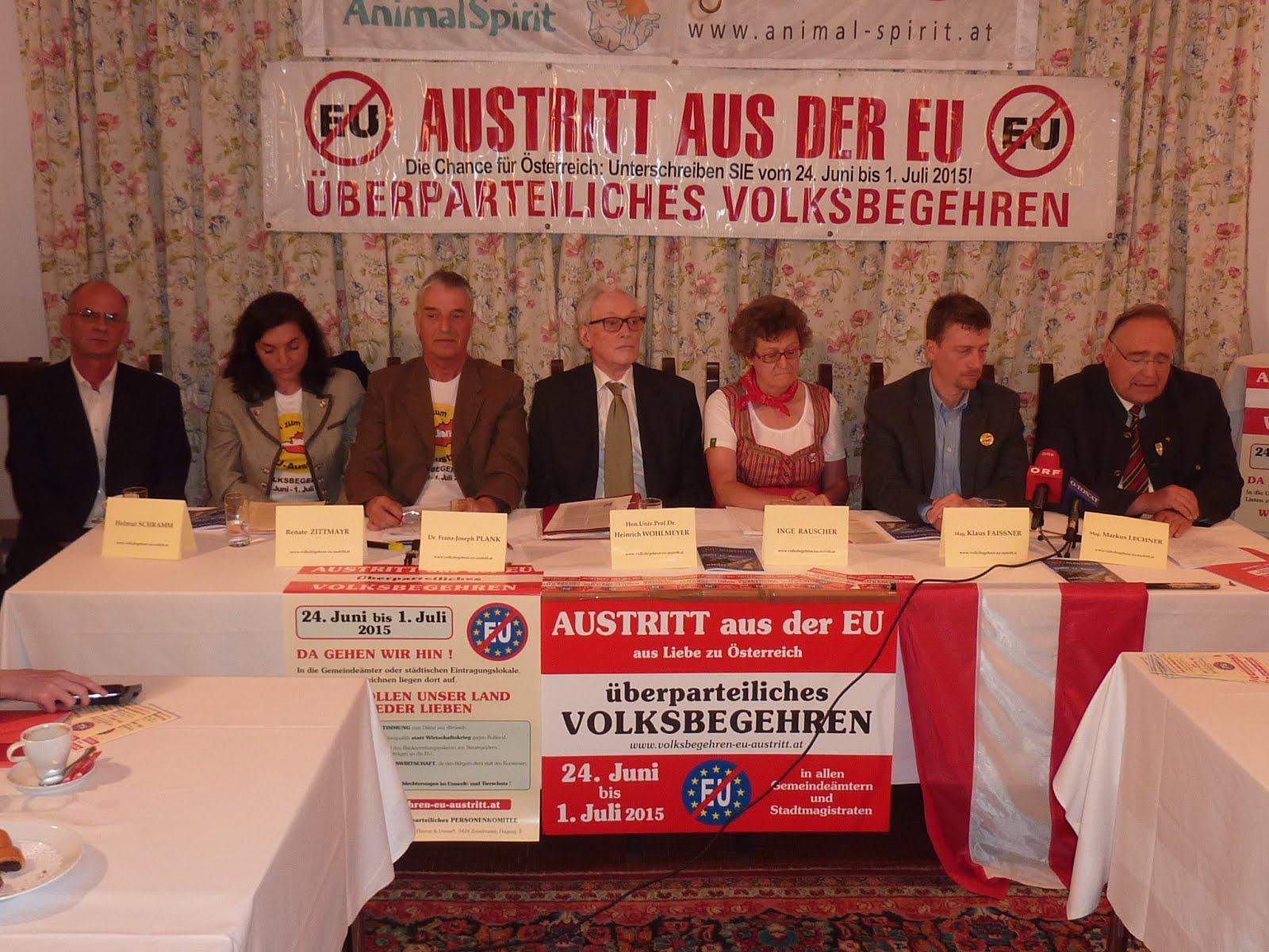 EU-Austritts-Volksbegehren