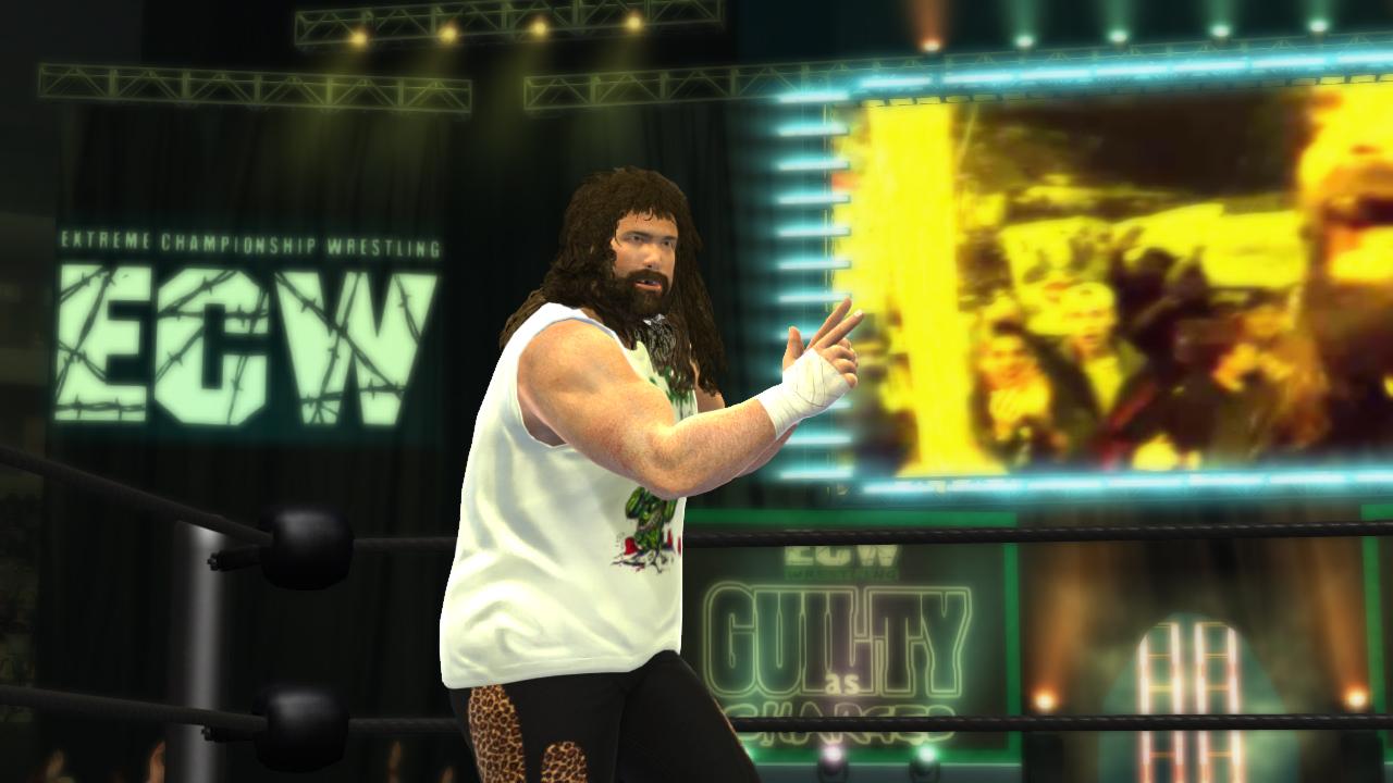 wrestling legends game ecw