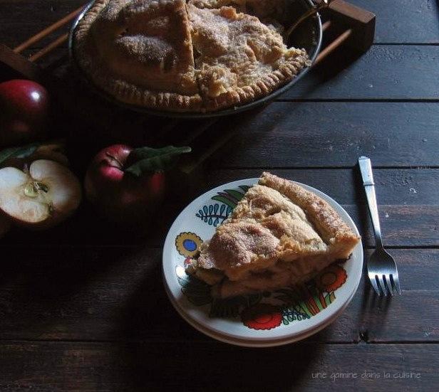 Apple-Toffee Pie | une gamine dans la cuisine