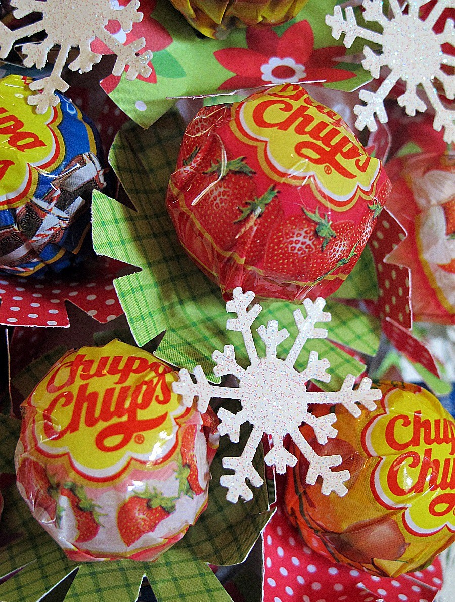 Melinda Lolly Pop Christmas Tree