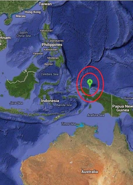 Magnitude 5.5 Earthquake of Manokwari, Indonesia 2014-09-20