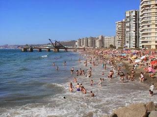 Hermosa Playa Acapulco en Viña del Mar