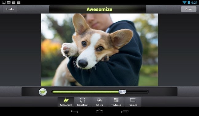 Camera Awesome android apk - Screenshoot