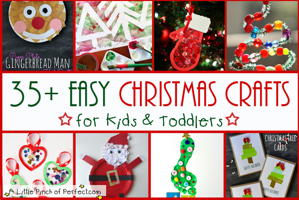 Christmas tree button craft for kids a little pinch of for Christmas crafts for young children