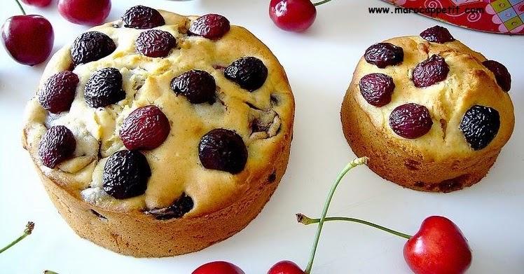 Recette de cake aux cerises et citron | Cherries and lemon cake recipe