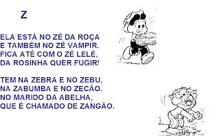 Alfabeto da Mônica - Alfabetização.