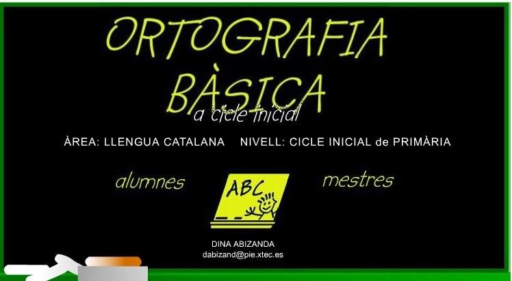 Resultat d'imatges de ortografia basica catala
