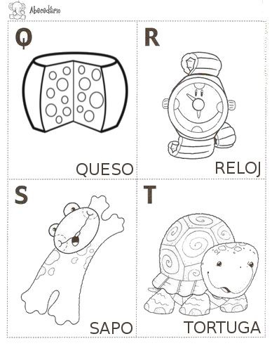 Encantador Hoja Para Colorear Abc Inspiración - Dibujos de Animales ...
