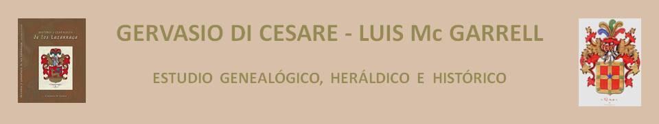 GERVASIO DI CESARE - LUIS McGARRELL