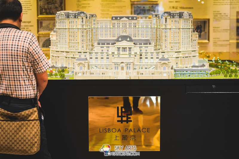 Lisboa Palace 上葡京 will be completed in year 2017