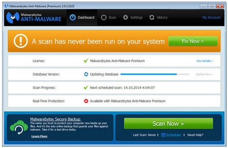 Malwarebytes Anti-Malware Premium v2.1.8.1057
